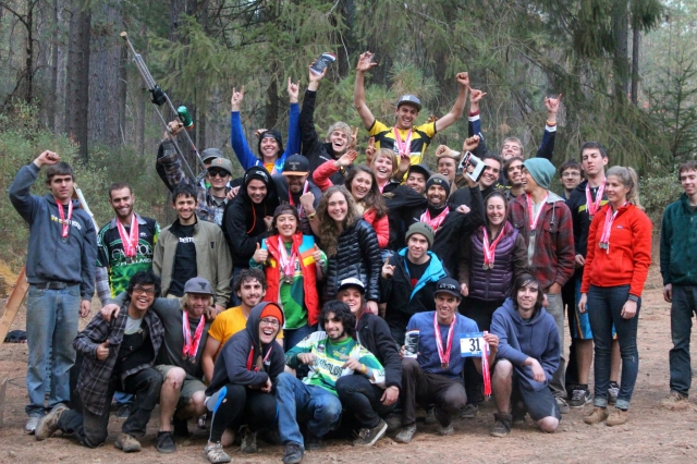 HSU is WCCC 2013 mountain bike champions